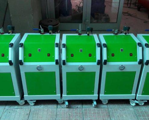 buharlı yıkama makinaları