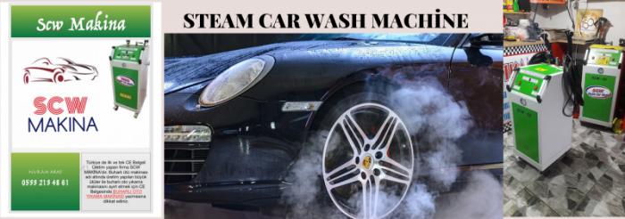 Machine de lavage de voiture à vapeur