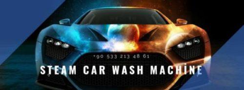 Buharlı araç yıkama temizliği